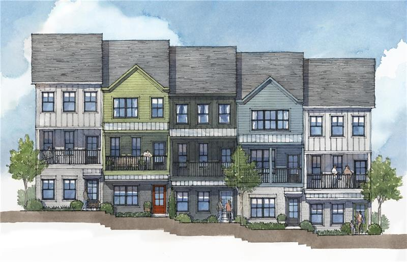 The Swift Townhomes In Midtown Atlanta