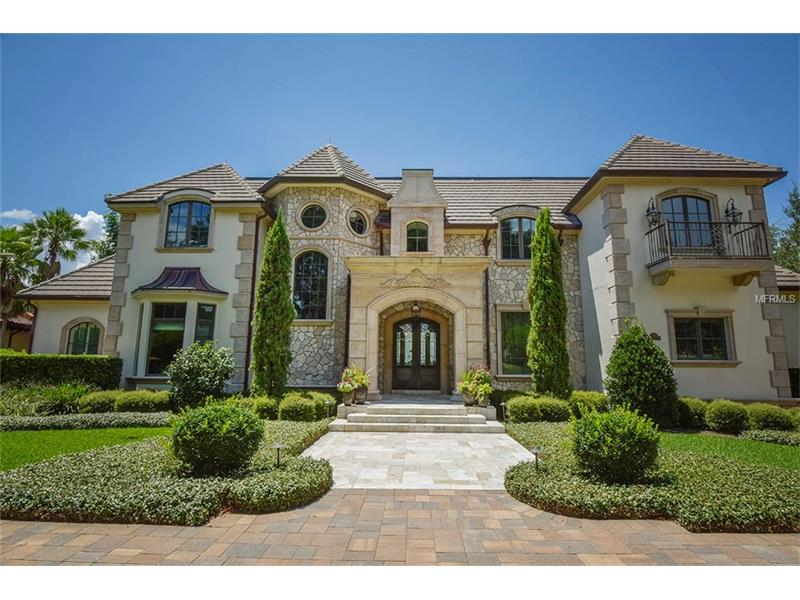 Central florida waterfront homes luxury homes for sale for Designer homes of central florida