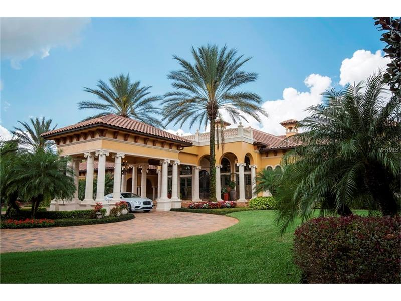 Orlando golf communities Isleworth swimming pool prices