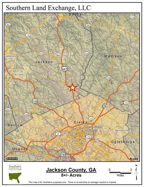 Map Of Hwy 441 In Georgia.Us Hwy 441 Hwy 334 Nicholson Ga 30565 Property Listing Own