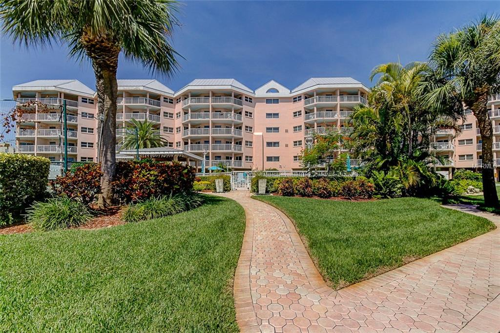 Condo In Sunrise Resort On St Pete Beach Within Pinellas County